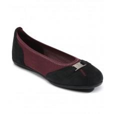 Deals, Discounts & Offers on Foot Wear - Flat 76% off on Puma Saba Ballet Black Ballerinas