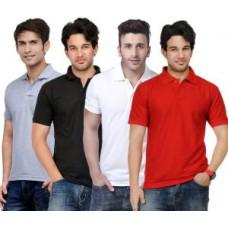 Deals, Discounts & Offers on Men Clothing - Rakshitas Collection Cotton T- Shirt