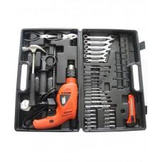 Deals, Discounts & Offers on Accessories - Black & Decker HD5513KA40 13mm 550W VSR Hammer Drill Kit with 40 Accessories