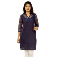Deals, Discounts & Offers on Women Clothing - Flat 67% off on GMI Casual Solid Women's Kurti