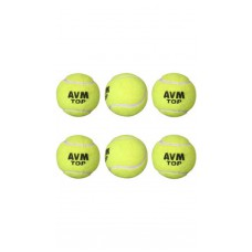 Deals, Discounts & Offers on Gaming - AVM Cricket Ball-Green Pack Of 6