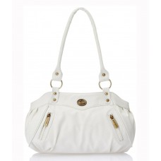 Deals, Discounts & Offers on Women - Fostelo White Shoulder Bag @ Rs.349