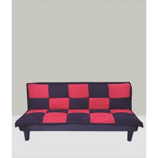 Deals, Discounts & Offers on Furniture - Red Rock Sofa Cum Bed in Black & Red
