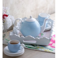 Deals, Discounts & Offers on Home Appliances - Flat 10% off on Sanjeev Kapoor's Ice Blue Tea Set