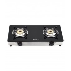 Deals, Discounts & Offers on Home Appliances - Pigeon 2 Burner Glass Top Gas Stove Favorite
