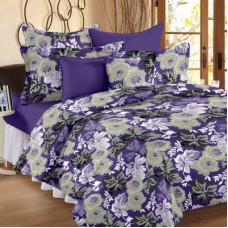 Deals, Discounts & Offers on Home Appliances - Ahmedabad Cotton Cotton Floral Double Bedsheet