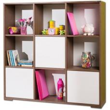 Deals, Discounts & Offers on Furniture - Nesta Furniture Biblo Engineered Wood Semi-Open Book Shelf