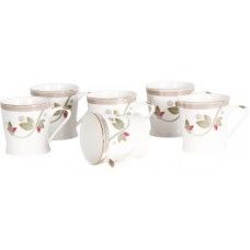 Deals, Discounts & Offers on Home Appliances - Bharat Tangonite Series Blossoming Bone China Mug