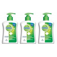 Deals, Discounts & Offers on Health & Personal Care - Dettol Original Liquid Soap Pump - 215 ml Pack of 3