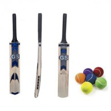 Deals, Discounts & Offers on Sports - Tennis Ball Cricket Bat with Free Tennis Ball