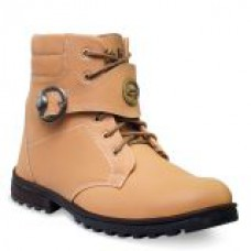 Deals, Discounts & Offers on Foot Wear - ADYBird Mens Beige Stylish Boots offer