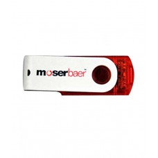 Deals, Discounts & Offers on Computers & Peripherals - Moserbaer Swivel 16GB Pen Drive