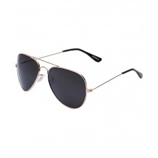Deals, Discounts & Offers on Accessories - Vicbono Copper Frame Black Lens Aviator Sunglasses