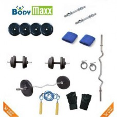 Deals, Discounts & Offers on Health & Personal Care - Body Maxx 26 Kg Weight Lifting Package offer