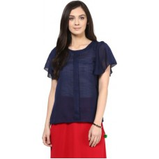Deals, Discounts & Offers on Women Clothing - Casual Bell Sleeve Solid Women's Top offer