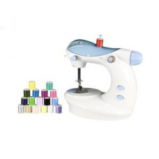 Deals, Discounts & Offers on Electronics - Portable Mini Electric Double Stitch Sewing Machine With Thread Set