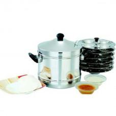 Deals, Discounts & Offers on Home & Kitchen - Mahavir Stainless Steel idli Cooker