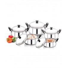 Deals, Discounts & Offers on Home & Kitchen - Pigeon - Kitchen Star 5 Piece Handi Set