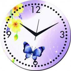 Deals, Discounts & Offers on Home Decor & Festive Needs - meSleep Butterfly Wall Clocks