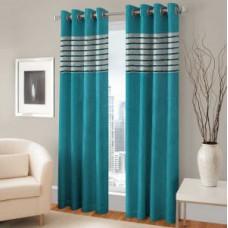 Deals, Discounts & Offers on Home Decor & Festive Needs - Bsb Trendz Eyelet Door Curtain