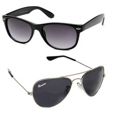 Deals, Discounts & Offers on Men - Winsome Combo Of Wayfarer And Sunglasses