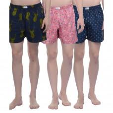 Deals, Discounts & Offers on Men Clothing - Sobre Estilo-Pack of 3 Mens Boxers
