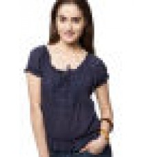 Deals, Discounts & Offers on Women Clothing - Flat 70% off on Griggs Blue Top