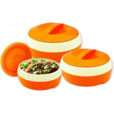 Deals, Discounts & Offers on Home & Kitchen - Princeware Solar Plastic Casserole - Set 3