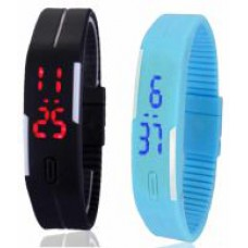 Deals, Discounts & Offers on Baby & Kids - Mango People Multicolor Digital Watch - Pack Of 2