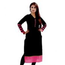 Deals, Discounts & Offers on Women Clothing - SUKANYAA Exclusive Designer Cotton/Rayon Plain Fancy Kurties