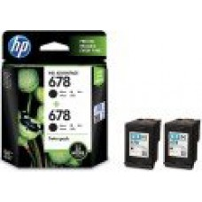 Deals, Discounts & Offers on Computers & Peripherals - HP 678 Twin Pack Black Ink