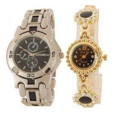 Deals, Discounts & Offers on Men - Buy 1 Get 1 Free Wrist Watch