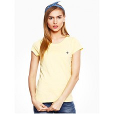 Deals, Discounts & Offers on Women Clothing - Round Neck Cotton Tee
