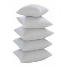 Deals, Discounts & Offers on Home Decor & Festive Needs - Raunak White Poly Cotton Cushion Filler - Set of 5