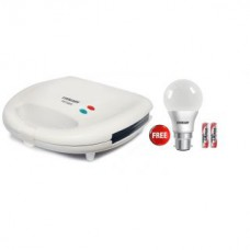 Deals, Discounts & Offers on Home & Kitchen - Eveready PST901 2 Slice Sandwich Maker with 7w led Bulb free