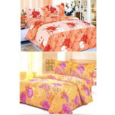 Deals, Discounts & Offers on Home Appliances - Pack Of 2 Double Bedsheets With 4 Pillow Covers