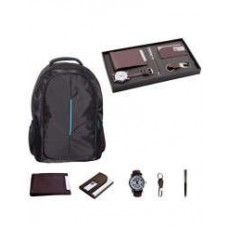 Deals, Discounts & Offers on Men - Modo Watch & Black Laptop Bag with Brown Fashion Accessories
