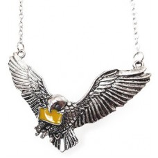 Deals, Discounts & Offers on Men - Via Mazzini Famous Harry Potter Flying Hedwig Necklace Silver Metal