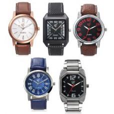 Deals, Discounts & Offers on Men - Rico Sordi Men's Analog Wristwatch - Set Of 5