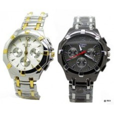 Deals, Discounts & Offers on Men - Two Stylish Chrono Wrist Watch For Men