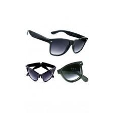 Deals, Discounts & Offers on Men - Swagger Black Wayfarer Sunglass