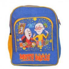 Deals, Discounts & Offers on Baby & Kids - Moutu Patlu Blue School Bag for Kids