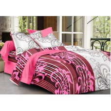 Deals, Discounts & Offers on Home Appliances - Ahmedabad Cotton Cotton Floral Double Bedsheet