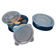 Deals, Discounts & Offers on Home & Kitchen - Amiraj Multi Masala Box With 2 Lids Air Tight