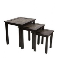 Deals, Discounts & Offers on Furniture -  Flat 53% off on Nesting Table - set of 3