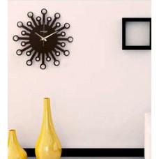 Deals, Discounts & Offers on Home Decor & Festive Needs - Random Brown Wooden Jewel - 24 Carat Clock