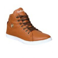 Deals, Discounts & Offers on Foot Wear - Flat 60% off on Sukun Beige Lace Up Casual Shoes