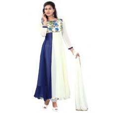 Deals, Discounts & Offers on Women Clothing - Thankar Women's Unstitched Salwar Suit