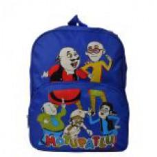 Deals, Discounts & Offers on Accessories - Motu Patlu Blue School Bag for Kids