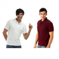 Deals, Discounts & Offers on Men Clothing - A Pack Of Two Lime Polo Tshirts